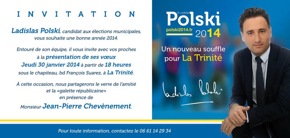 le candidat POLSKI invite  voeux